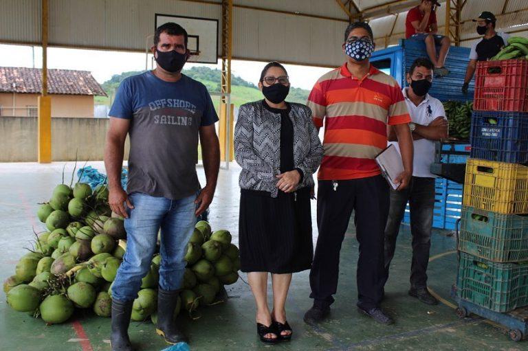 Catende recebe nova remessa de alimentos do PAA