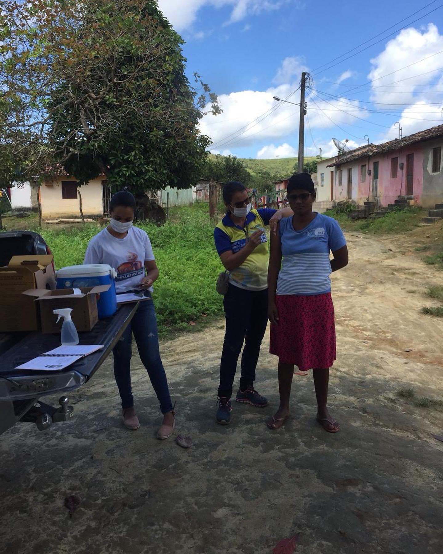 Imunização contra a Covid-19 na zona rural