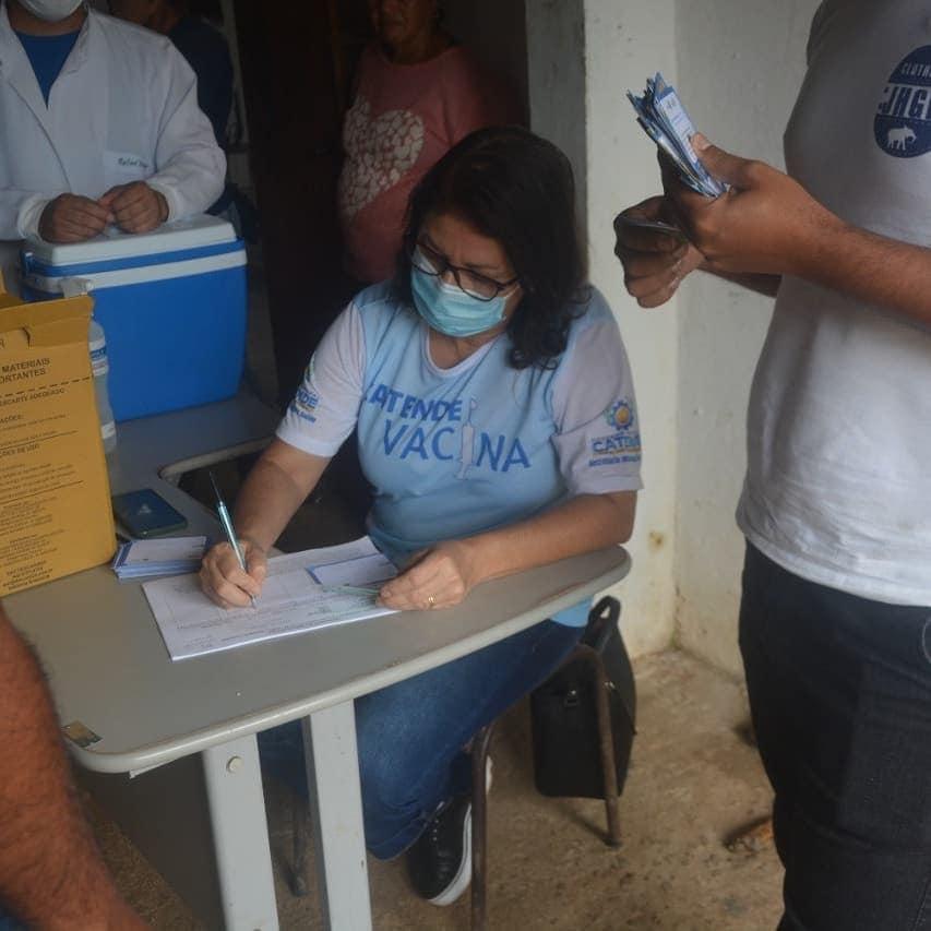 2ª Dose de vacina para os funcionários da limpeza pública